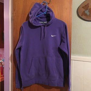 Nike purple unisex hoodie sz M